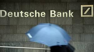 Schwere Zeiten für die Deutsche Bank: Im letzten Quartal 2012 gab es einen Milliardenverlust.