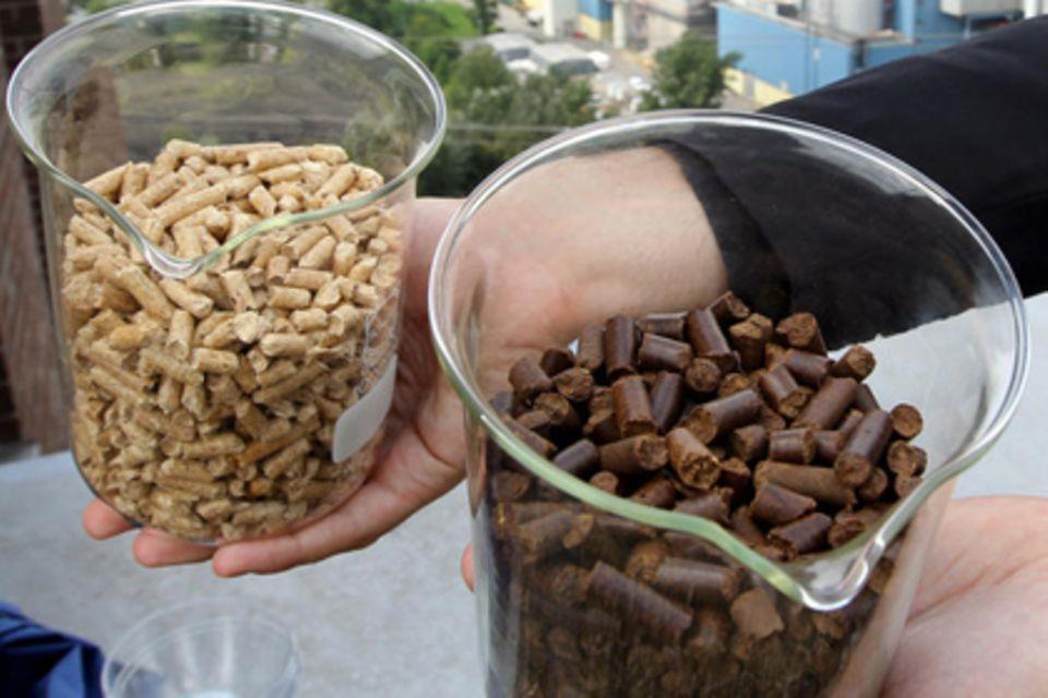 Biomasse wird verstärkt auch zum Heizen genutzt. Am verbreiteten sind Heizkessel, die mit Holzpellets befeuert werden