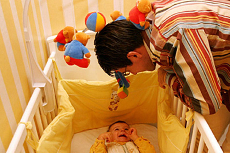 Lungen von Babys reagieren sehr empfindlich auf Schimmel
