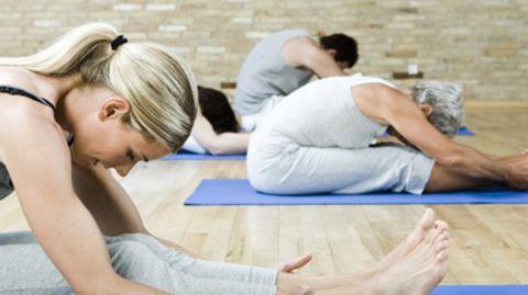 Durch Yoga sollen die Selbstheilungskräfte gestärkt werden