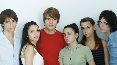 Teenager: Sie sehen wie Menschen aus und es sind auch Menschen drin