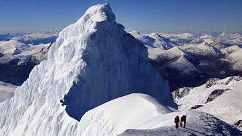 Bergsteigen in Feuerland: Deutschen gelingt Erstbegehung im ewigen Eis