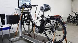 Viele Räder zerbrachen beim Belastungstest