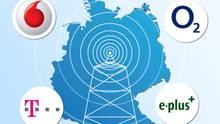 Telekom, Vodafone, O2 oder E-Plus: Wer hat das beste Handynetz?