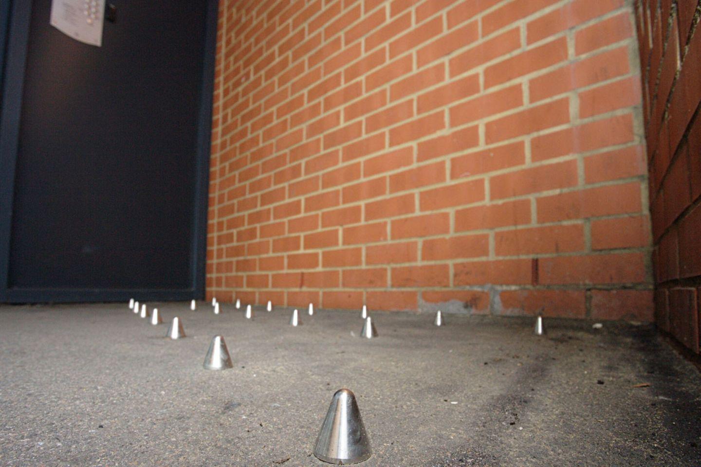 Architektur gegen die Obdachlosen: Der Stachelkrieg von London