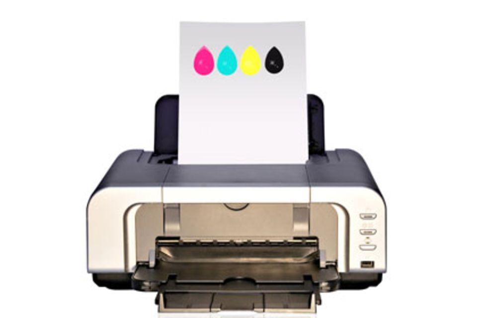 Eine Druckerpatrone ist nicht einfach nur ein Tank für Tinte - dank Computerchip und Co. kommuniziert sie mit dem Drucker, um Fälschungen zu blockieren.
