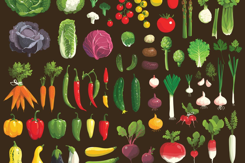 Gemüse ist das Grundnahrungsmittel jedes Vegetariers. Aber auch viele Produkte aus fernen Ländern sind gefragt. Von A wie Amaranth bis Z wie Zatar.