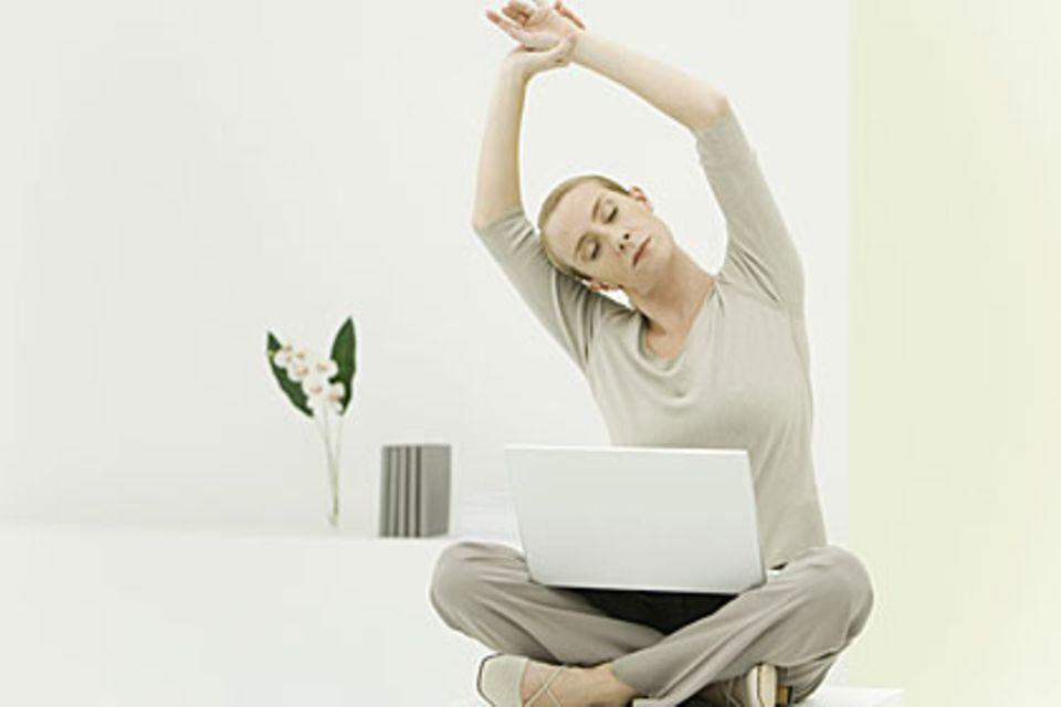 Den Stress abschütteln und sich kurze Atempausen verschaffen, ist wichtig