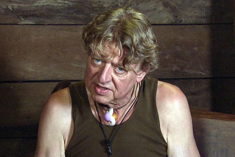 """Zum Dschungelkönig hat es nicht gereicht, doch dafür sitzt Walter Freiwald auf dem """"Herzensthron""""."""