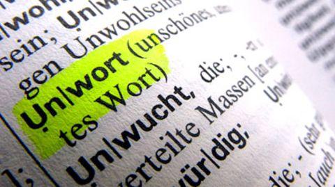 """Ein Unwort ist unschön, so steht es im Wörterbuch. Im vergangenen Jahr sorgte besonders die Wortschöpfung """"Opfer-Abo"""" für Unmut."""