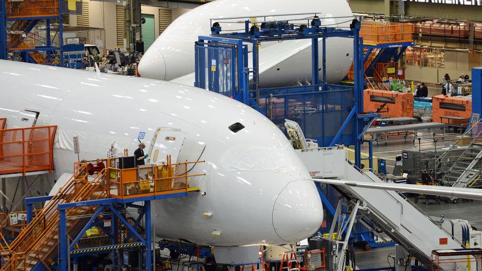 Im Werk der Boeing 787: Wo der Dreamliner flügge wird