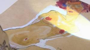 Der expressionistische Maler Egon Schiele prägte die Kunst der Belle Époque