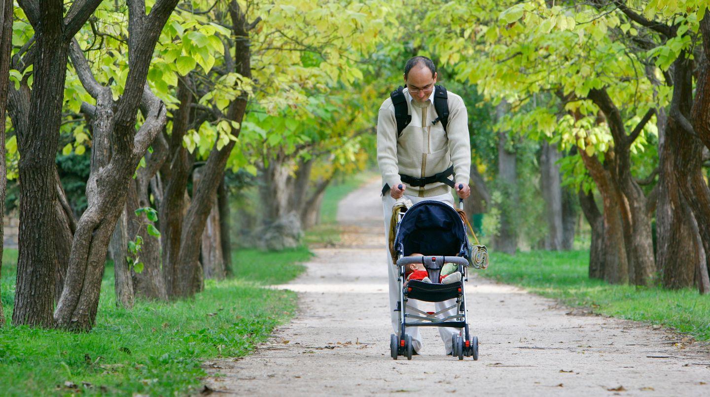 Väter können nach der Geburt ihres Kindes an einer Depression erkranken