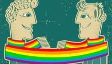 Ernst-August musste 50 Jahre alt werden, bis schwul sein legal wurde. Das Gesetz bekam er persönlich nie zu spüren, aber die gesellschaftliche Ablehnung.
