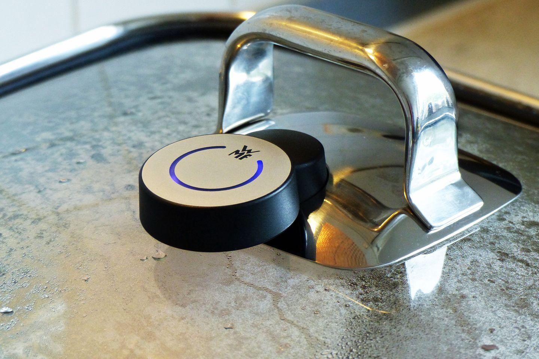 Das Handy sollte immer in der Nähe des Dampfgarers bleiben, sonst bricht die Bluetooth-Verbindung ab.
