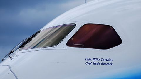 Boeing 787 in Berlin: Dreamliner besucht Deutschland