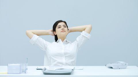 Wenn sie nicht überfordert, kann Arbeit auch einen antidepressiven Effekt haben