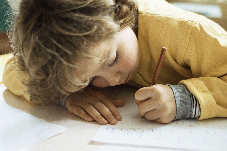 Nicht jedem Kind fällt das Schreiben leicht