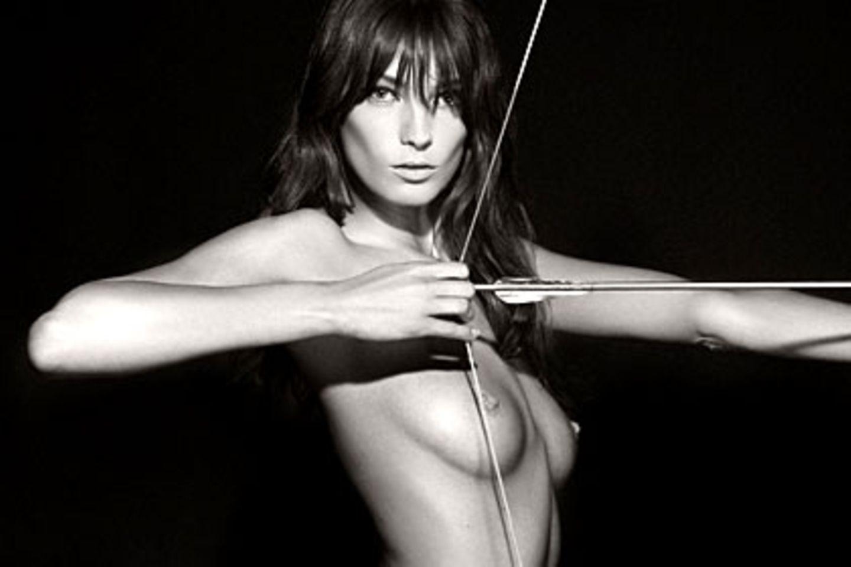 Das kanadische Supermodel Daria Werbowy ziert den Pirelli-Kalender 2011