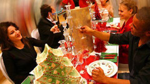 Beliebt: Weihnachtsfeiern im Kreis der Kollegen