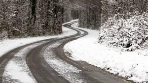 Straßen im Winter