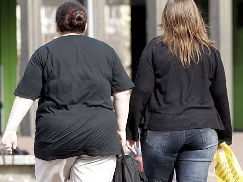 75 Prozent der Männner und 59 Prozent der Frauen in Deutschland sind zu dick