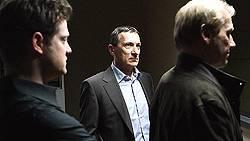 Der Neue am Freitagabend: Hauptkommissar Martin Stolberg (Rudolf Kowalski, Mitte)