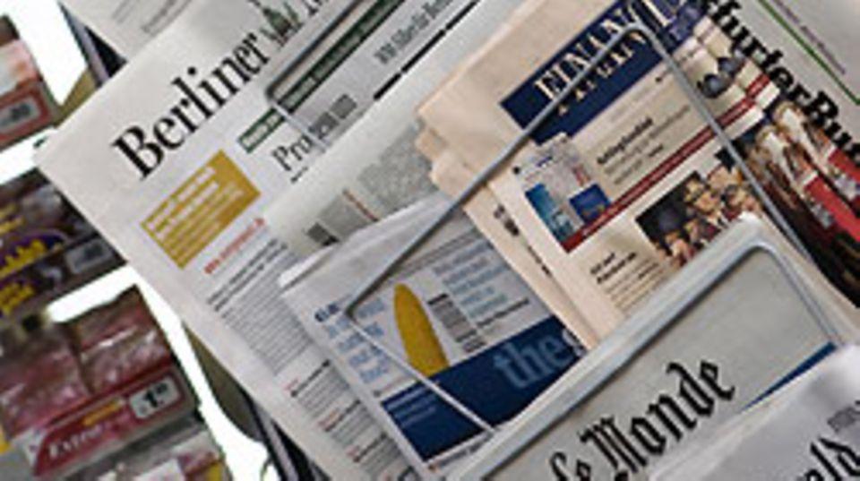 """Gewinneinbruch bei """"USA Today"""", Milliardenschulden beim """"Tribune"""": Auch die deutschen Zeitungsverleger machen sich Sorgen um ihre Auflagen"""
