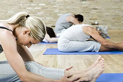 Entscheidend beim Yoga ist, ein Gefühl für den eigenen Körper zu bekommen