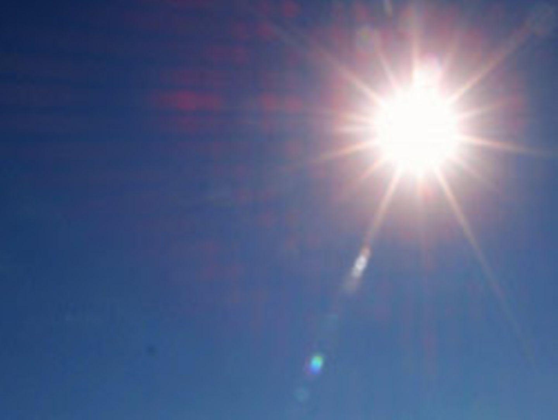 Die Sonne strahlt am tiefblauen Himmel. Sollte die globale Durchschnittstemperatur ansteigen, hätte dies fatale Folgen für die Artenvielfalt