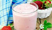 Im Erdbeerjoghurt muss nur wenig Erdbeere stecken