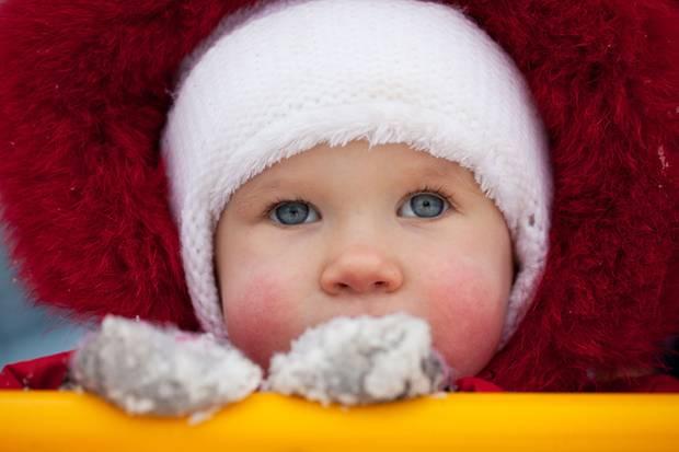 Hautausschlag: als ob Ihr Kind zwei Backpfeifen kassiert hätte