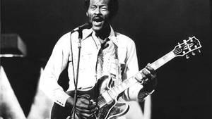 """Einer der ersten schwarzen Stars des Rock'n'Roll: Chuck Berry schuf unsterbliche Hymnen, darunter """"Sweet Little Sixteen"""", """"Roll over Beethoven"""" und """"Rock'n'Roll Music"""""""