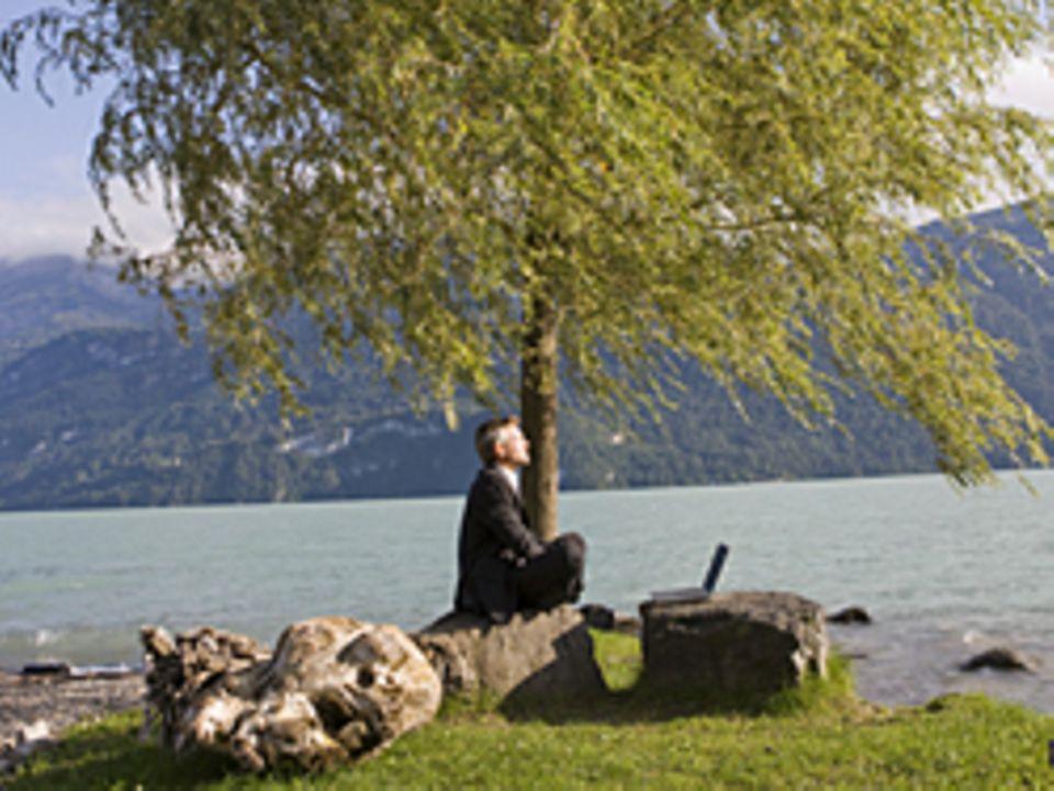 Der Meditierende erfährt sich selbst und seine Umwelt auf neue Weise