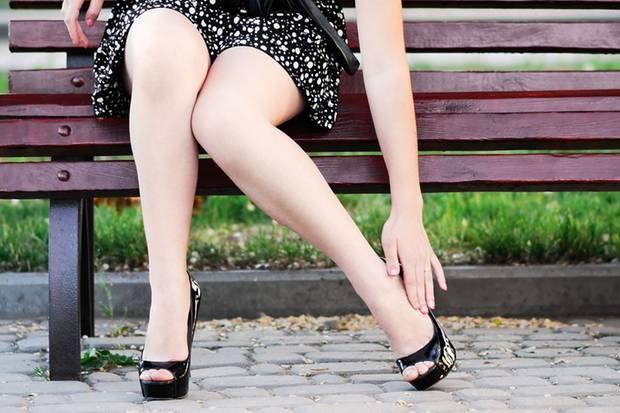 Müde Beine nach dem Shoppen: Keine Sorge, das ist normal