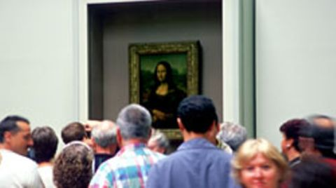 Das Lächeln der Mona Lisa hilft anscheinend auch Schmerzpatienten