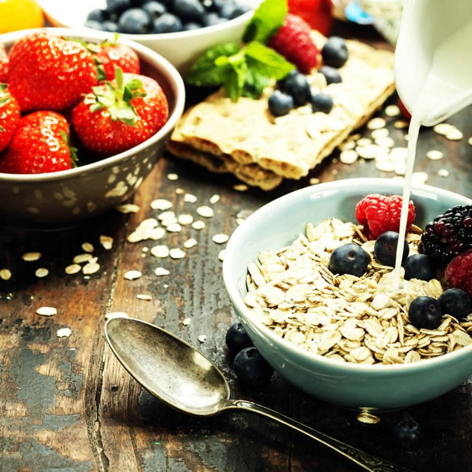 Eine gesunde und ausgewogene Ernährung Übersetzung