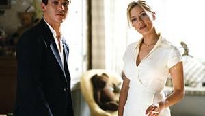 Eine verhängnisvolle Begegnung: Chris (Jonathan Rhys Meyers) trifft Nola (Scarlett Johansson) im Hause seiner Schwiegereltern in spe