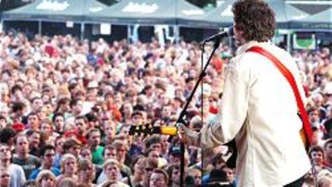 Auch die britische Band I Am Kloot trat beim Haldern Pop Festival auf