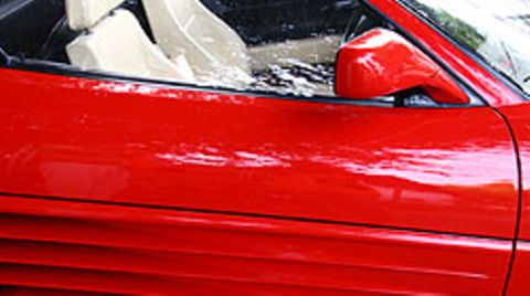 Schneller Flitzer: In einem Ferrari wurde ein Raser bei 243 Km/h auf der Autobahn geblitzt