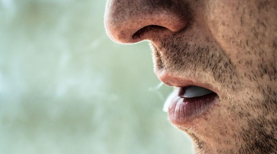 Auch sie werden aufhören - früher oder später: Zwei überzeugte Raucher bei einer Protestaktion gegen das Rauchverbot in München