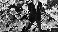 """""""Citizen Kane"""" wurde 1941 gedreht, Regie führte Orson Welles"""