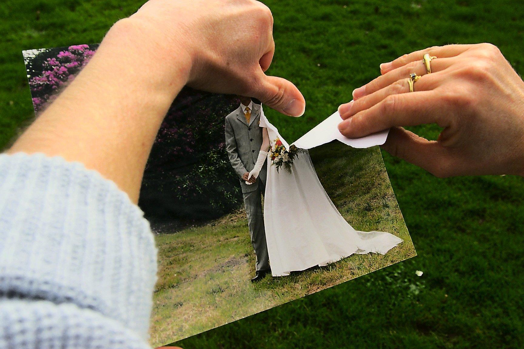 wie man mit einer Frau eine Scheidung durchgeht