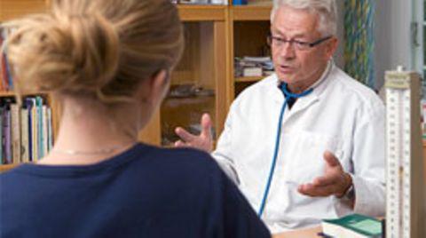 Sprechen Sie mit Ihrem Arzt ganz offen über ihre Bedürfnisse