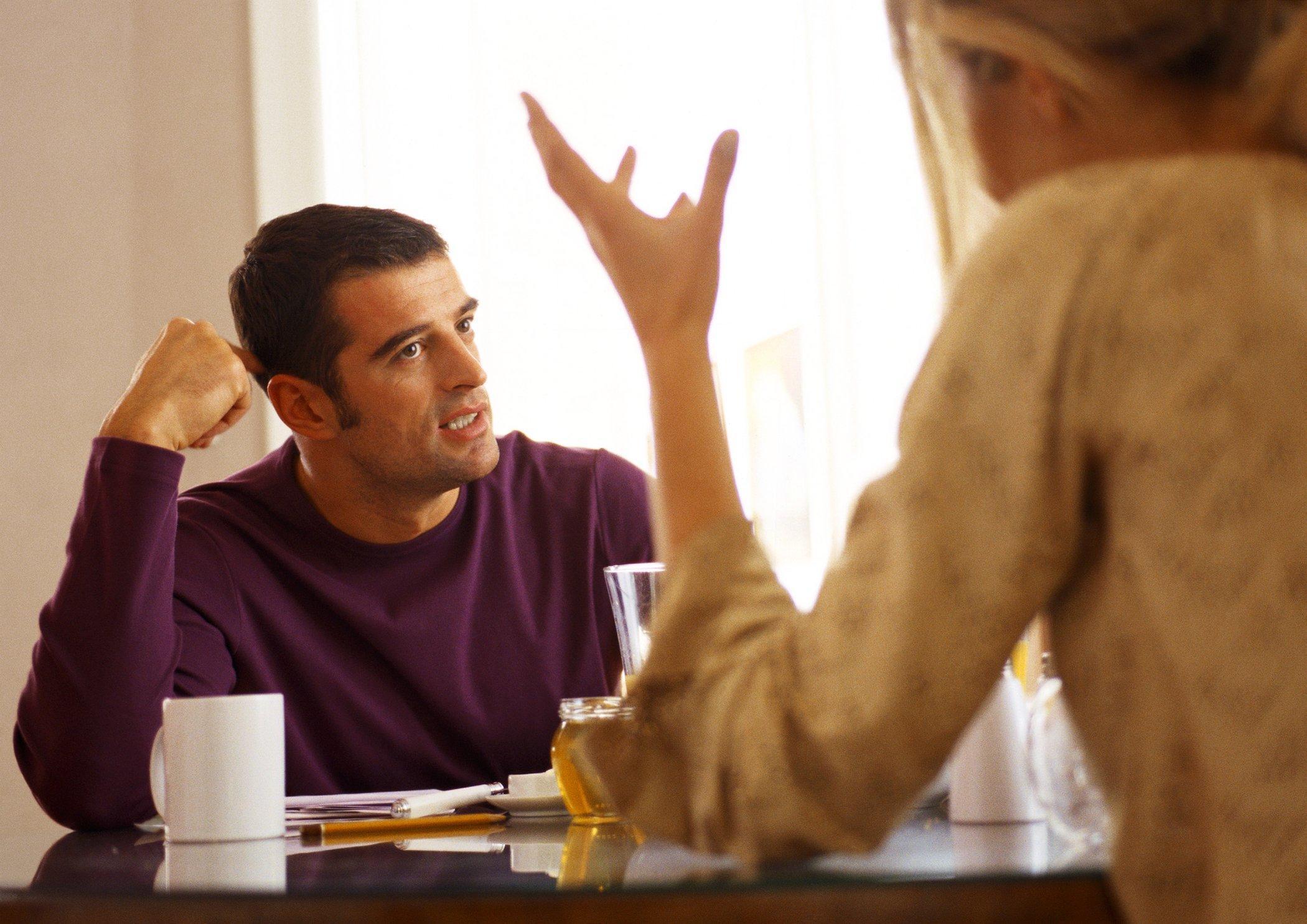 Jemanden treffen, der getrennt aber nicht geschieden ist