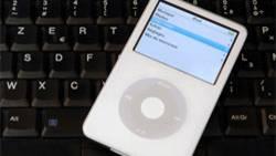 Alles was man braucht, um sich Musik aus dem Internet zu laden: Einen iPod und einen Computer