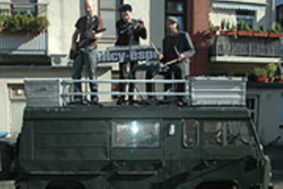 Andreas Wiersig hat sich eine mobile Bühne mit Wohnmobil zugelegt