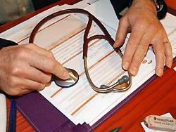 Vor dem Eintritt in eine private Krankenkasse steht ein Gesundheitscheck