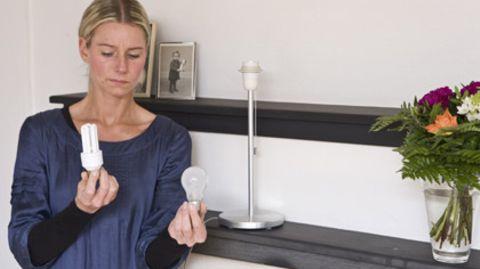 Mit der Wahl der richtigen Glühlampe kann es anfangen: das Energiesparen