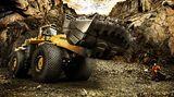 Komatsu Radlader WA1200-3 – Europas grösster Radlader in einer finnischen Nickelsulfid-Mine